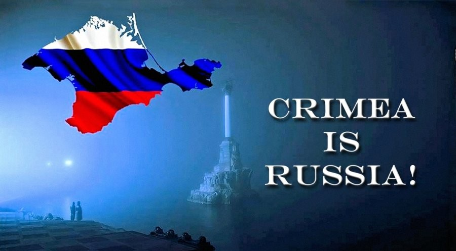 Crimea is Russia, why Crimea is not Ukraine, Crimea was given back to Russia because it is Russian.