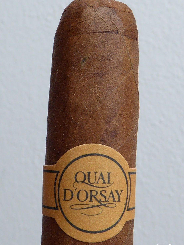 сигарные дегустации, дегустация сигары Quai d'Orsay Coronas Claro, Cigar Review Quai d'Orsay