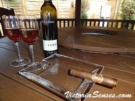 cigar tasting, port tasting, cigar pairing colheita port