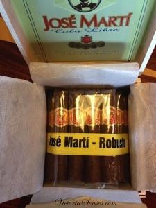 cigar tasting JOSE MARTI Cuba Libre. дегустация сигары JOSE MARTI Cuba Libre