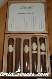 Сигары Davidoff robusto 100. Cigar tasting davidoff robusto 100 - 5 robusto Collection.