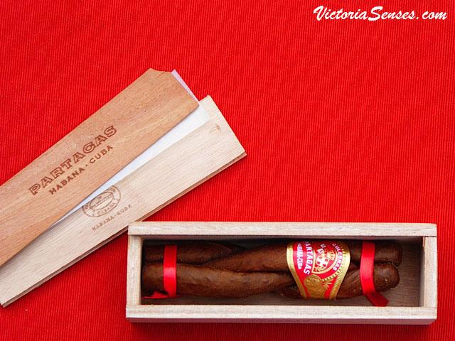 cigar review Partagás Culebras. Дегустация сигар Partagás Culebras