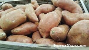 батат, сладкий картофель, рецепт кассероли - продукты