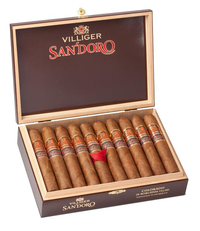 Cigars Villiger Sandoro press release